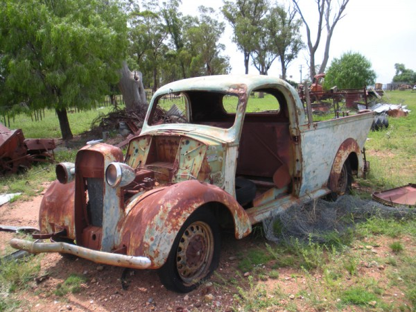 Peak Hill - Home to some of NSW finest Relics